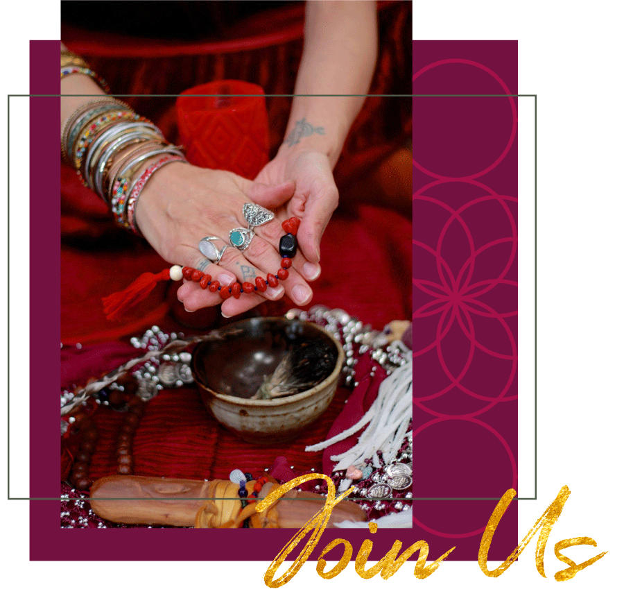 Join us for the Virtual Red Tent Gatherings by Priestess Rising