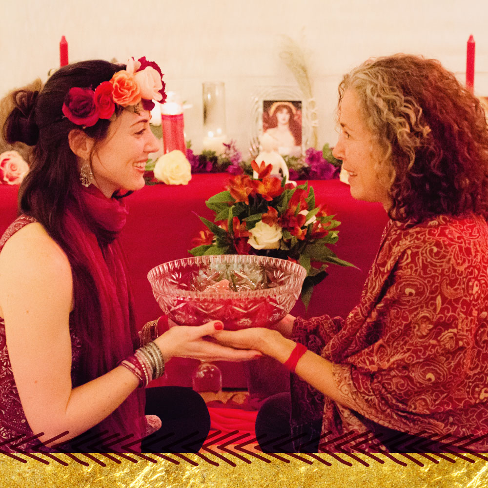 Enter the Rose Temple Retreat with Priestess Rising
