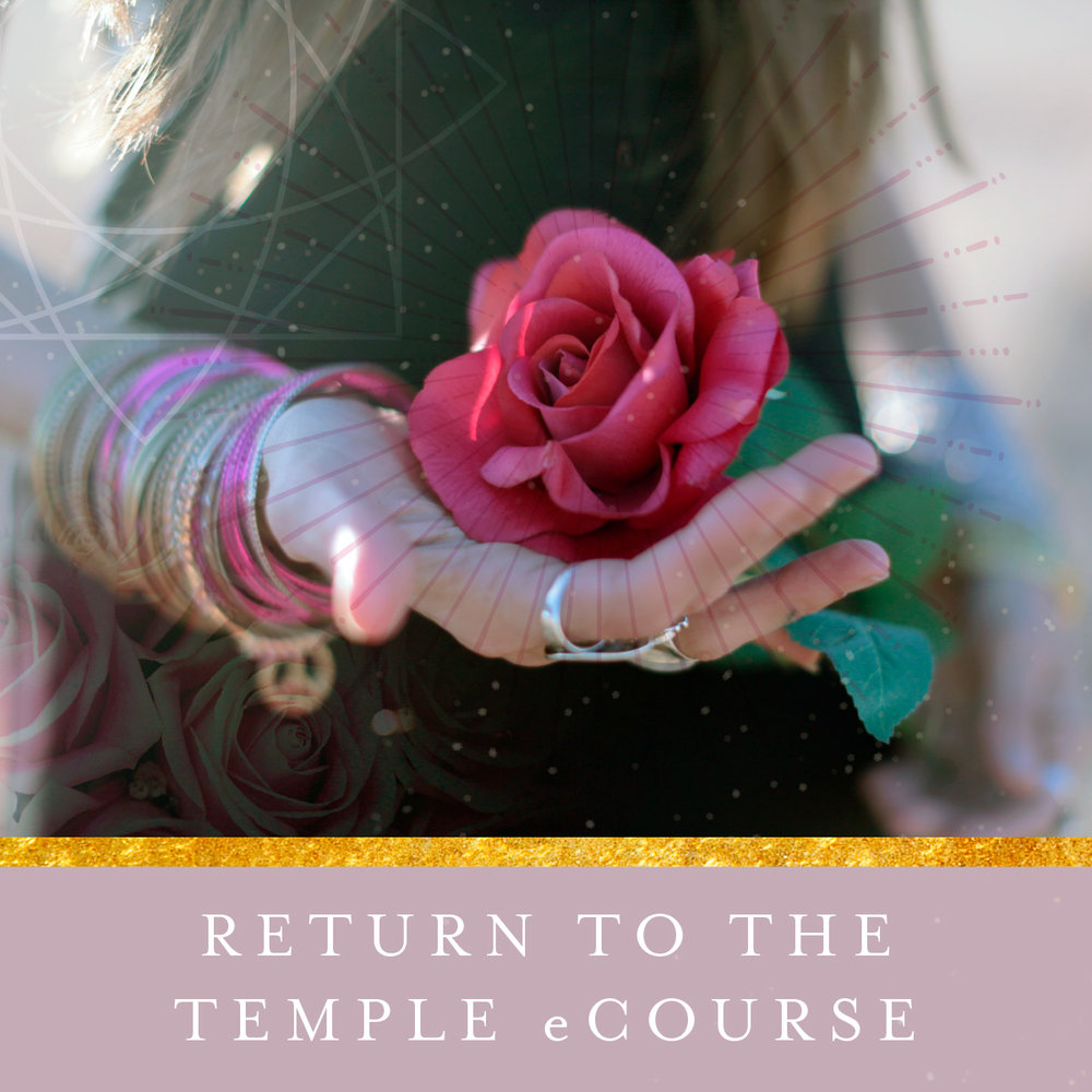 Return to the Temple eCourse by Priestess Rising