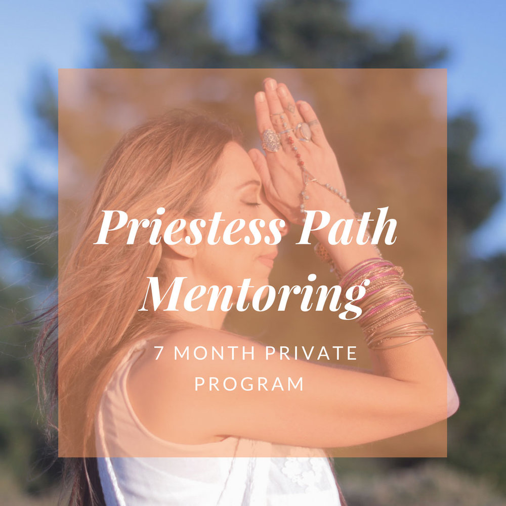 Priestess Path Mentoring with Marin Bach-Antonson