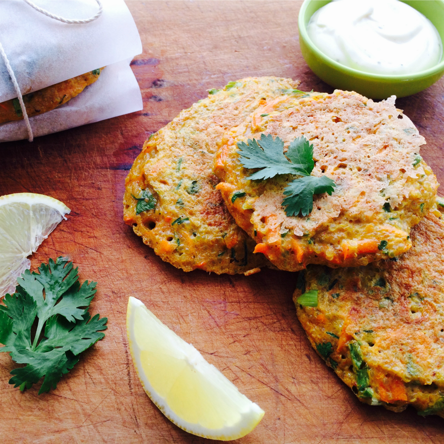Curry Quinoa Fritters