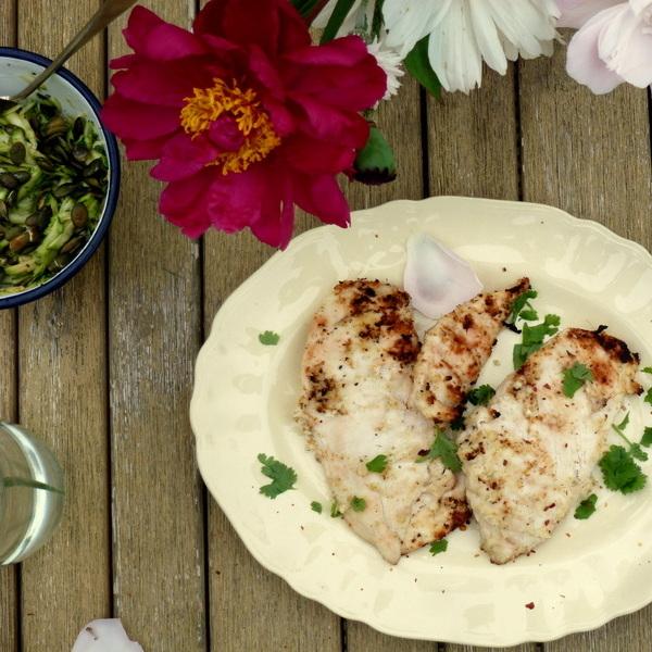 Coconut Lemongrass Chicken