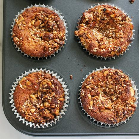 Double Walnut Muffins