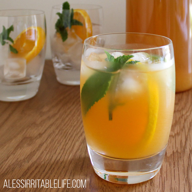 Fresh & Fruity Spiced Ice Tea