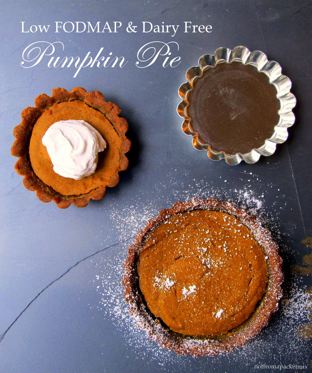 Pumpkin Pie with a Gingerbread Crust - Low FODMAP, Dairy Free, Gluten Free and No Refined Sugar.JPG