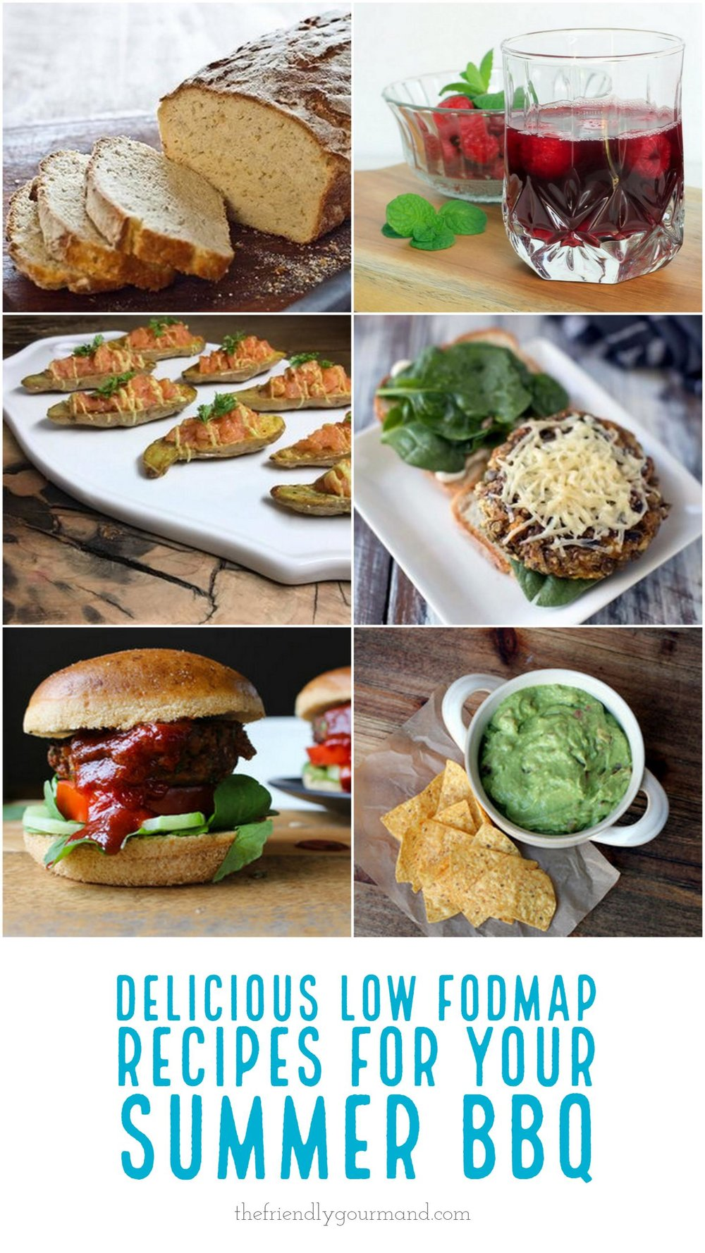 Delicious Low FODMAP Recipes for your Summer BBQ | The Friendly Gourmand | #lowfodmap #fodmapfriendly #glutenfree #summer #bbq #barbeque