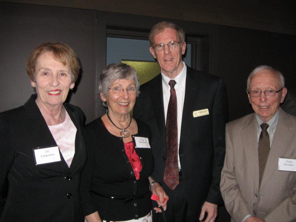 Jo Emerson, Liz Hiniker, Dr. Lovett, Dick Hiniker.JPG