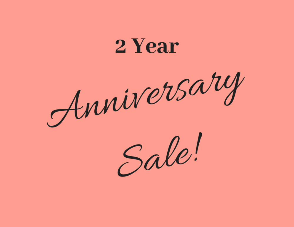 2 year anniversary sale the board