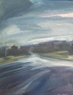 Grace Road  30 x 20cm Oil on Canvas 2017
