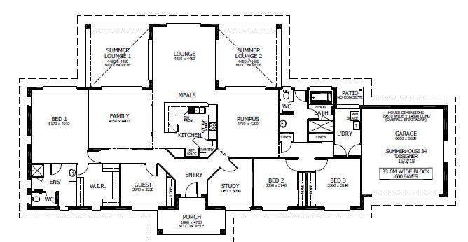 SUMMERHOUSE 34 - FROM $275,092