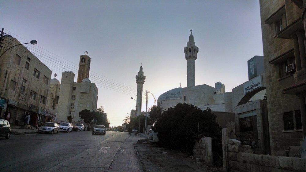 A neighborhood in downtown Amman (Photo credit: Louis Yako, 2014)