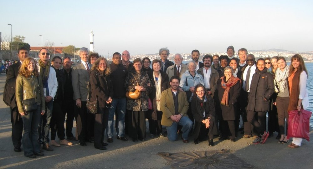 Directors from 22 of CAORC's American overseas research centers met in Istanbul, Turkey, for a three-day workshop (Photo courtesy of Barbara A. Porter, ACOR)