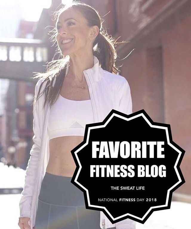 Congratulations to fan favorite @sweatlife_nyc as this year's #NationalFitnessDay winner for Favorite Fitness Blog! . The Sweat Life founder Aly Teich transitioned from a 10-year career in television and media to focus on health and wellness after her mother was diagnosed with Stage IV ovarian cancer. She started out simply wanting a way to help others navigate the world of fitness under the belief that there's no best workout, body, or diet, but that people needed a way to find what works best for them. . Each week the team brings followers a new video showcasing a workout or health trend so that fans can experience it firsthand before trying (and paying) themselves. The blog also features contributing articles from leaders across the industry to everyday people, alike. . Check out The Sweat Life at sweatlifenyc.com and on Instagram at @sweatlife_nyc. . For all of this year's winners, head over to the site through the link in our bio! 👆🏽🏆
