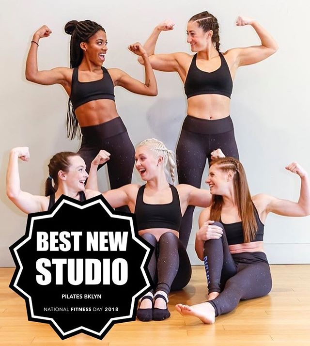 Next up - congratulations to this year's Best New Studio, @pilatesbklyn! This local NYC newcomer opened their doors just last year on the 3rd floor of the @brooklynathleticclub and the community that founder @kaseedeej has fostered in just a few months is impressive. But it's no surprise when you learn that Kaseedee has an incredibly inspiring story of her own, shedding over 100 pounds and now on a mission to help other women going through the same struggles she's experienced first-hand ❤️ . And that's not the only appeal a the studio also hosts special classes and happy hours that open out onto the club's beautiful roof deck for the summer. So yeah, we're pretty into that ☀️ . Check out Kaseedee and the studio at pilatesbklyn.com and head over to the site through the link in our bio to see all of this year's winners! 💪🏽