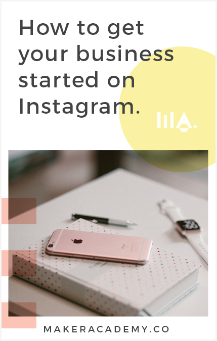 We break down how to get your business started on Instagram. If you're a creative entrepreneur, blogger, business owner you're not going to want to miss this article. Click to read!