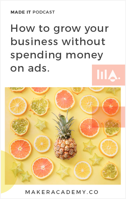 You may think the only way to grow your business is with advertising, no? Think again. I'm breaking down the top ways you can grow your business without spending any money on ads.