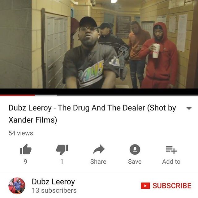 "🚨#NewMusicAlert 🚨 The Drug & The Dealer"" Music Video 🎞 Artist: Dubz Leeroy Director: @xanderfilmz  Link in @dubzleeroy_ BIO 👨🏾‍💻 Love when my bros motivate & inspire me! ............................................................................ #WhatNewYorkSoundsLike #WhatNYCSoundsLike #DJs #HipHop #RevoltTV #2DopeBoyz #MassAppeal #FunkFlex #NahRight #InFlexWeTrust #RocNation #RapDillz #ThisIs50 #HotNewHipHop #HipHopEarly #XXLMagazine #HipHopDX #Hot97WhosNext #RealRap #OnSmash"