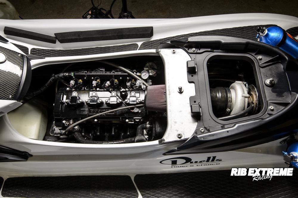 YAMAHA FZR TURBO (Open Devil) - 800 hk
