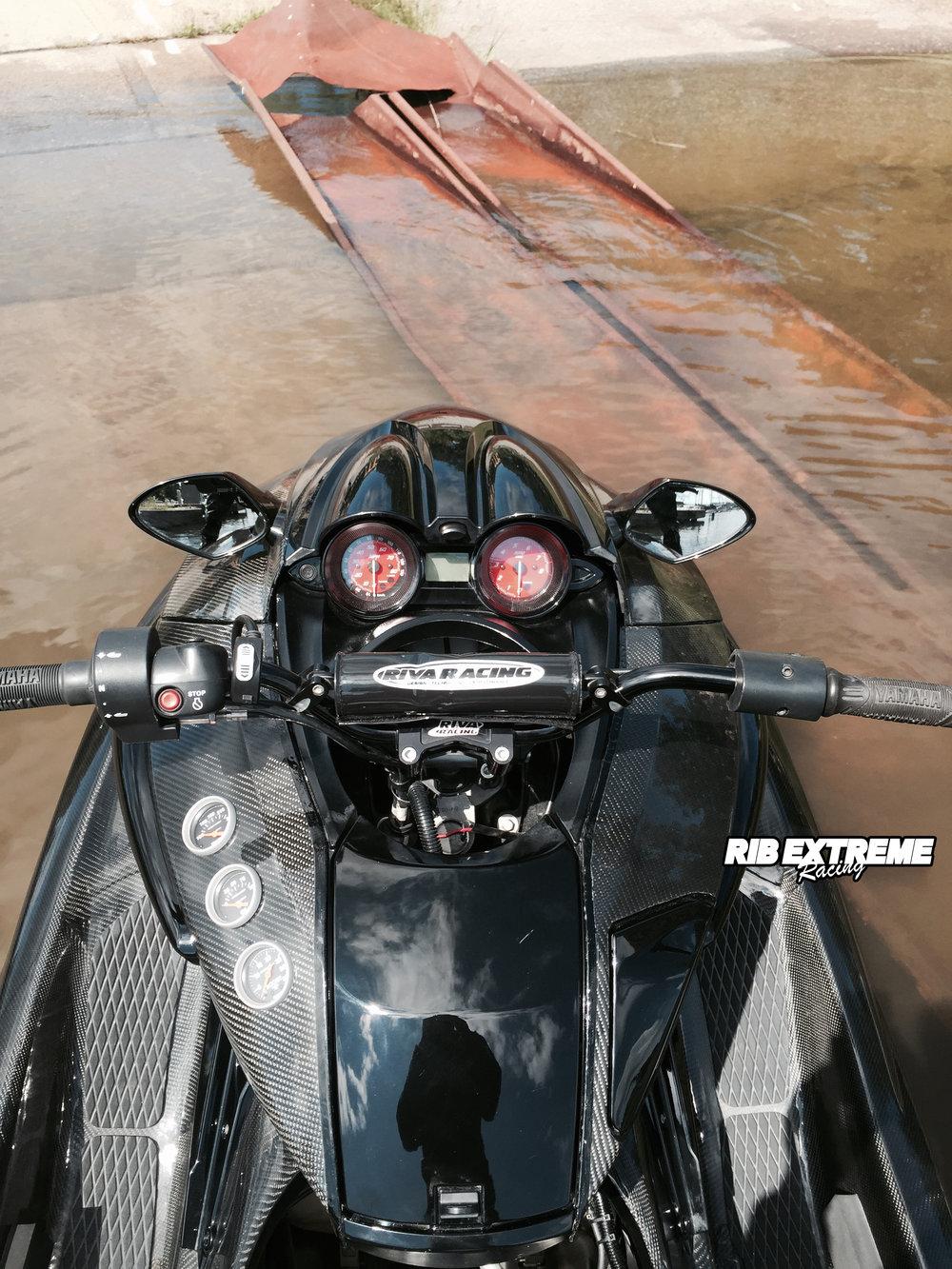 Yamaha FZR TURBO (Nero) - 500 hk