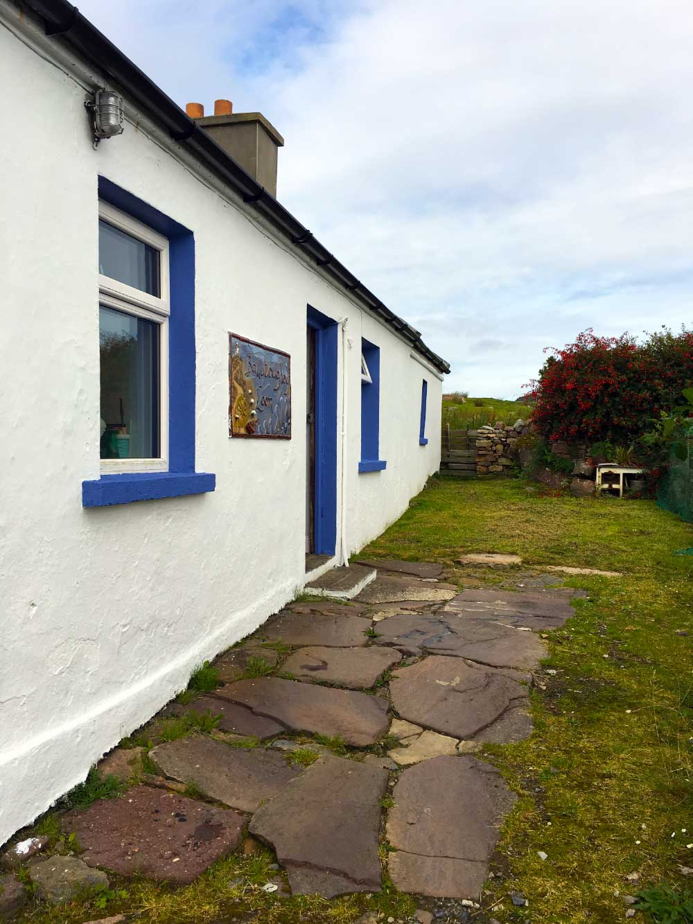 Ballytoughey Loom, Clare Island