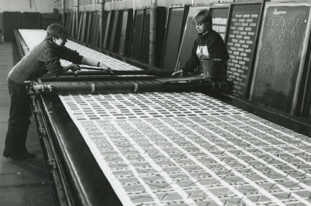 Studio BonBon, print workshop (1986)