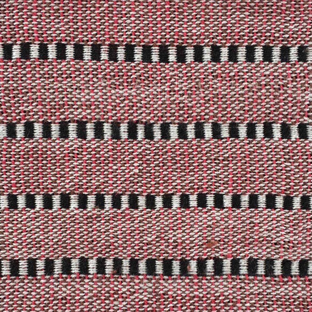 Woven Structure – Red/black/white #1