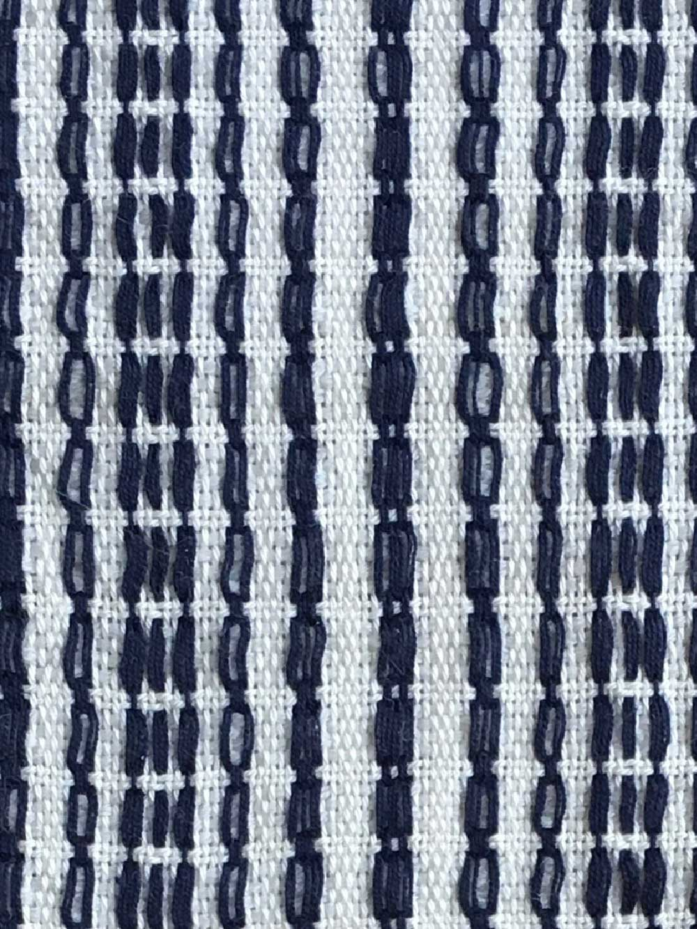 Woven Structure – Blue/white #8