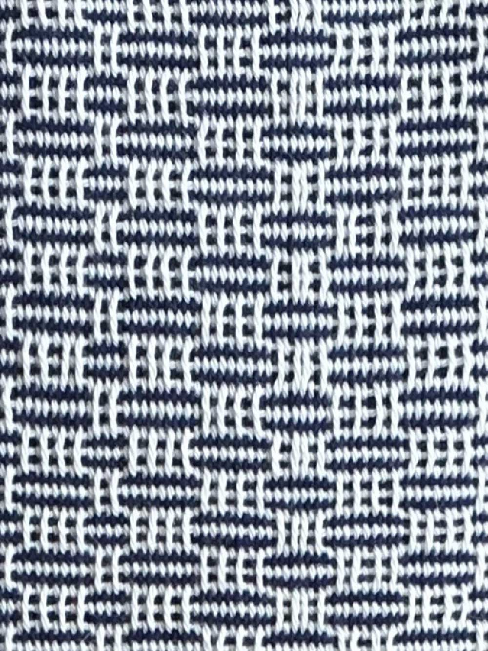 Woven Structure – Blue/white #9
