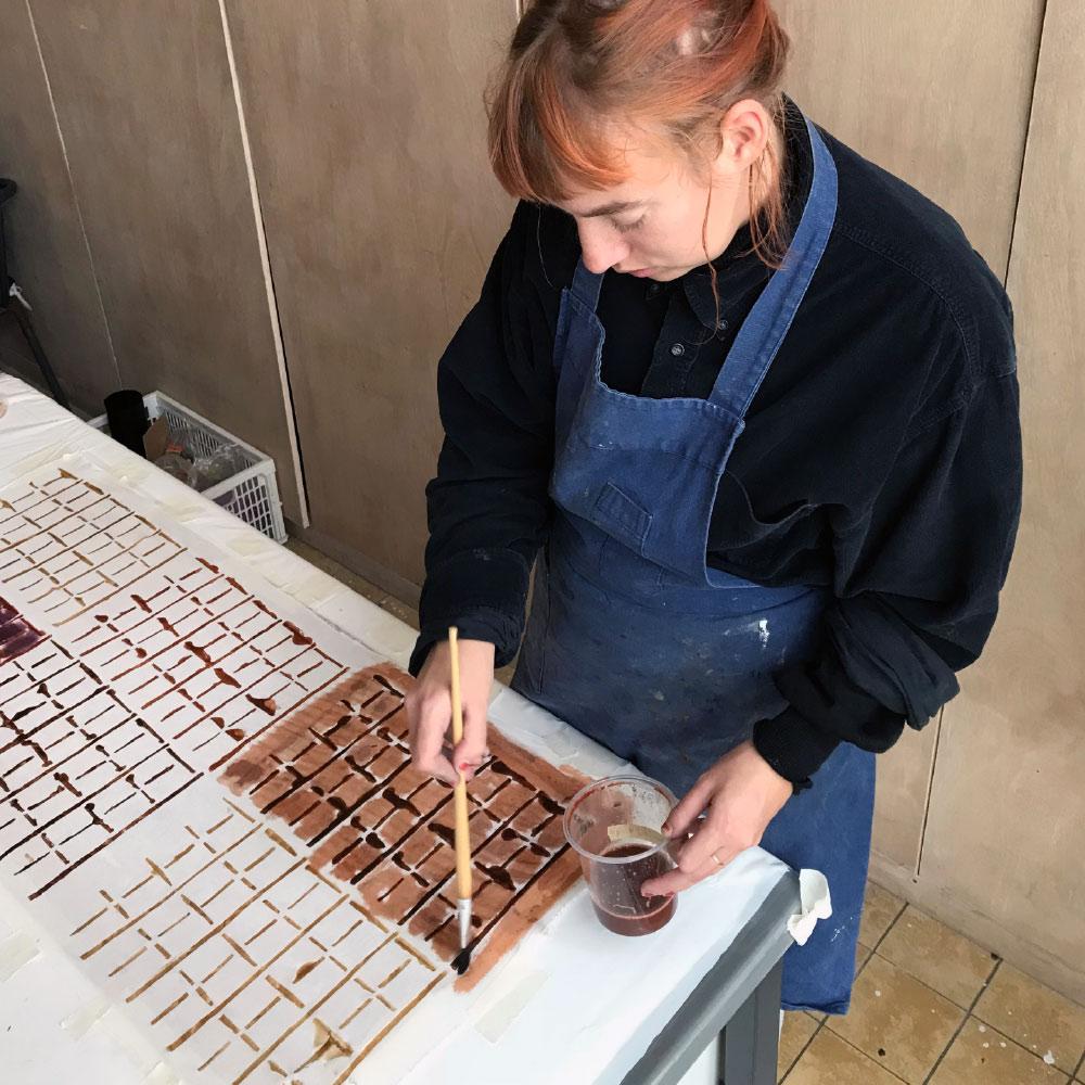 Workshop: Verven en Drukken met Planten (februari 2019)