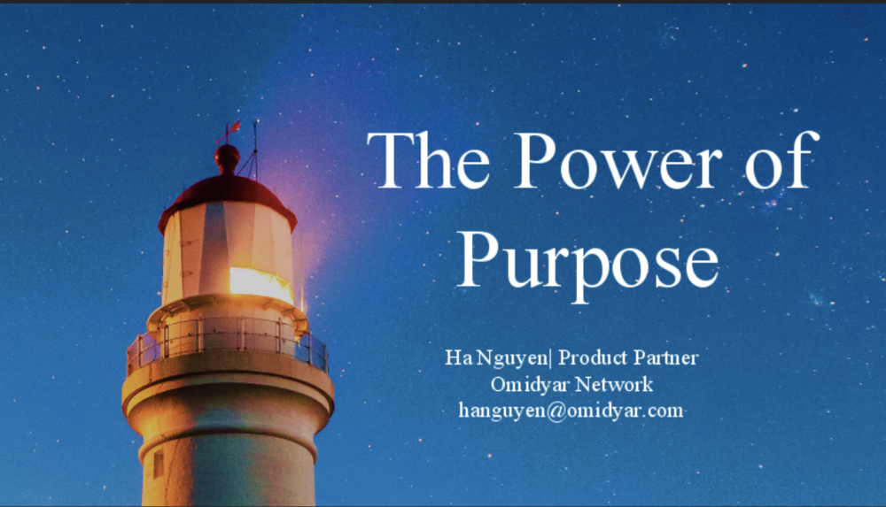 Ha Nguyen: The Power of Purpose