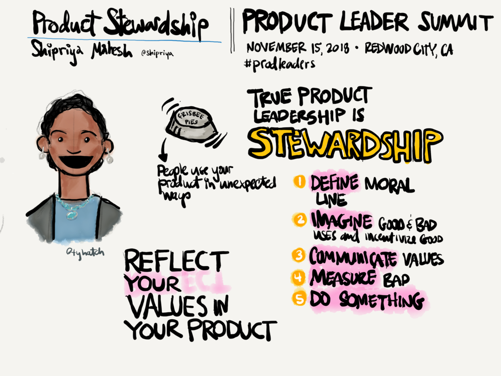 Shripriya Mahesh talk: Product Stewardship