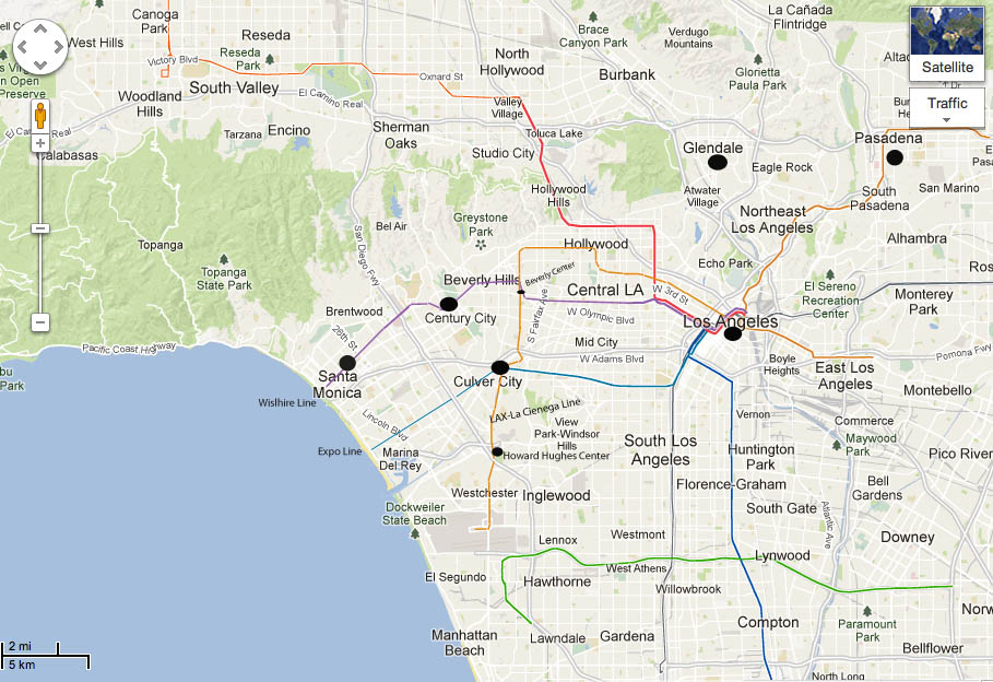 LA Future Subway