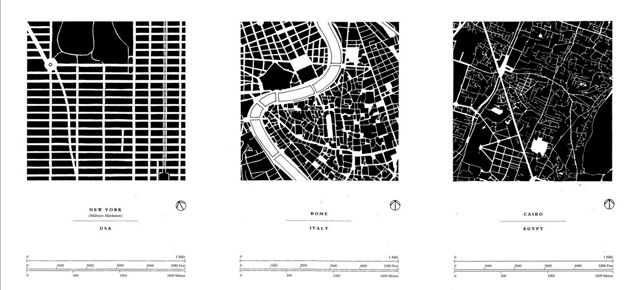Allan Jacob's diagrams of city for