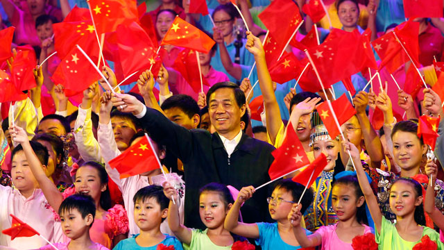 "Bo Xilai sings ""red songs"" in Chongqing"