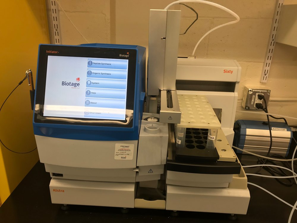 Biotage Alstra Microwave Peptide Synthesizer -