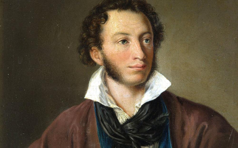 «Портрет А. С. Пушкина» Василий Тропинин,1827
