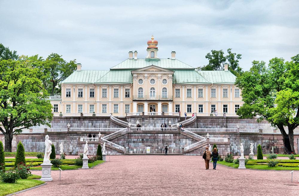 Ломоносов. Большой Меншиковский дворец
