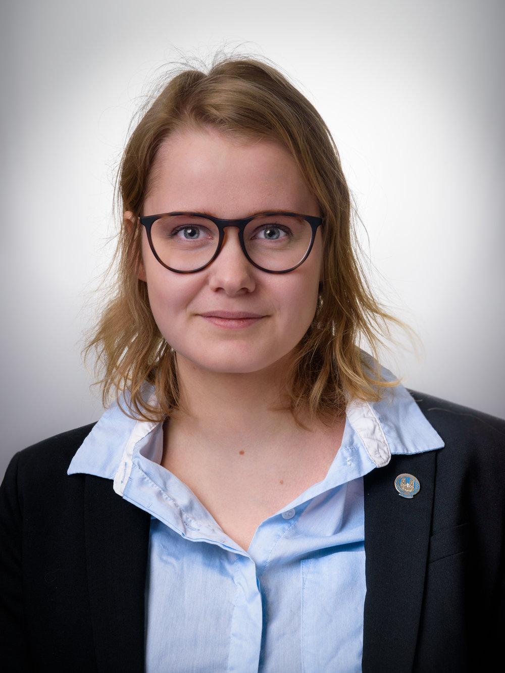 Sara Schjødt Kjær- Deputy Sec. Gen.