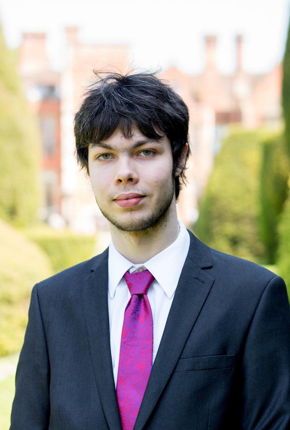 Aiden Monteith - Finance Officer