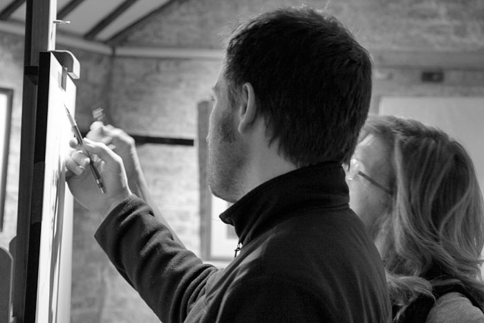 MAINTAINING TRADITIONAL VALUES - Our instructors are working professional artists and experts in their fields of academic drawing and painting. Passing on that knowledge is their passion.