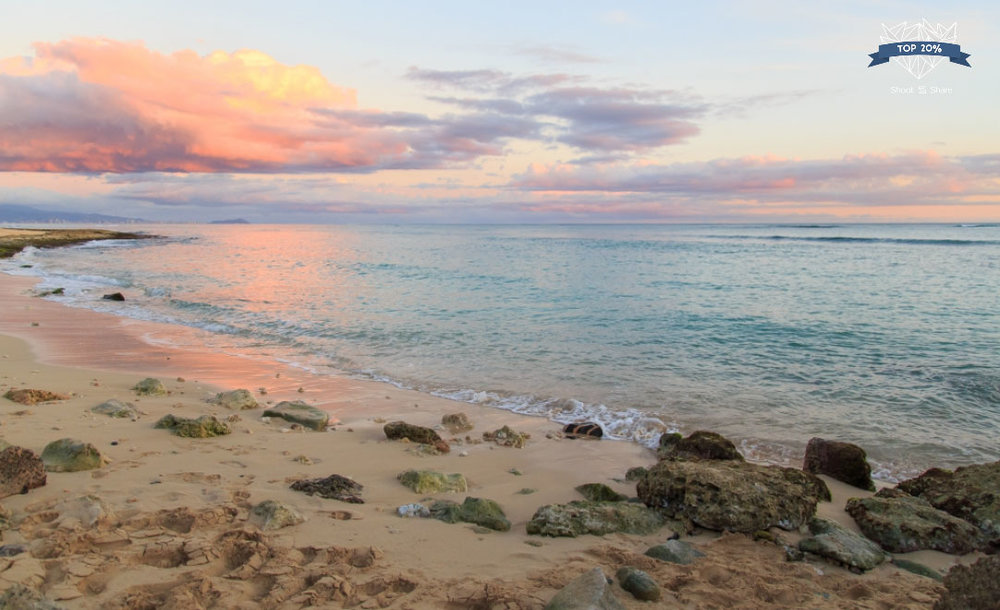 Nimitz Beach in Kapolei, Hawaii