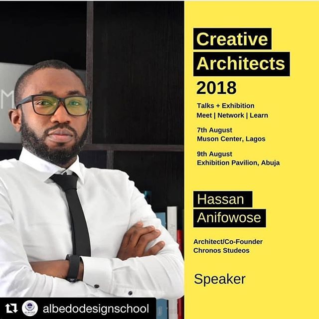 #Repost @albedodesignschool with @get_repost ・・・ Hassan Anifowose @hassancortex speaks!  Design thinking😎😎😎 the theme for this year's competition. Tips on how to manage your brand better for optimum results.  #creativearchitects #architects #designers #designthinking #lagos #interiordesign #ads #interiordesign