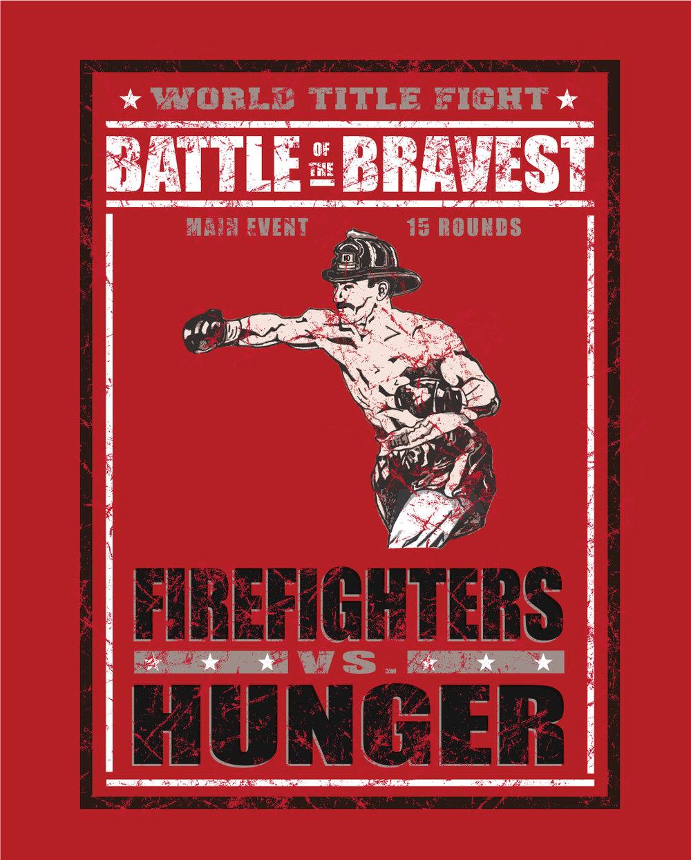 Firefighters vs Hunger