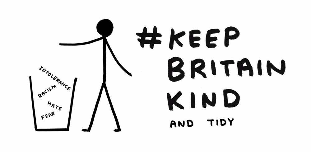 Help Liberty Human Rights #KeepBritainKind. - Sign up with Liberty Human Rights to make yourself heard.Browse the David Shrigley designed products in the shop.Read how we helped Liberty Human Rights launch such an important campaign.