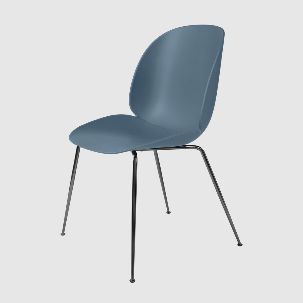 Beetle_DiningChair_Conic_Unupholstered_BlackChrome_BlueGrey_Front.jpg