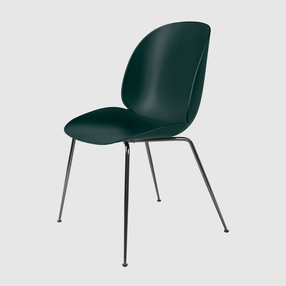 Beetle_DiningChair_Conic_Unupholstered_BlackChrome_Green_Front.jpg
