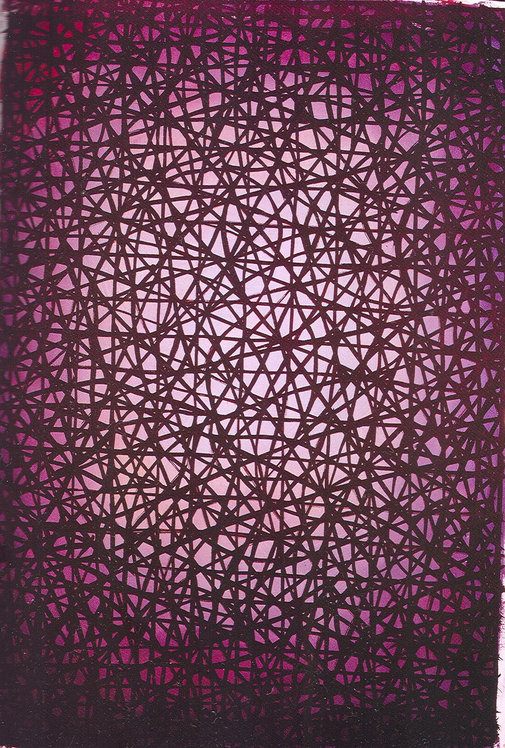 Brui William   Pink. Acrylic on canvas. 1985. Size 150 x 200 cm.