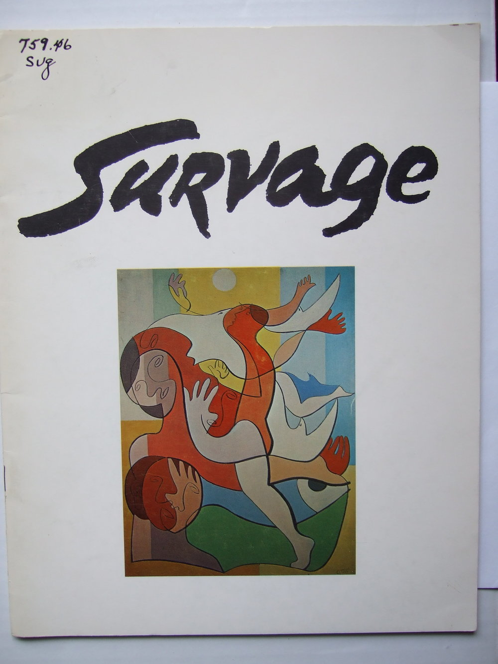 Survage. Catalogue of exhibition in New York, 1970.