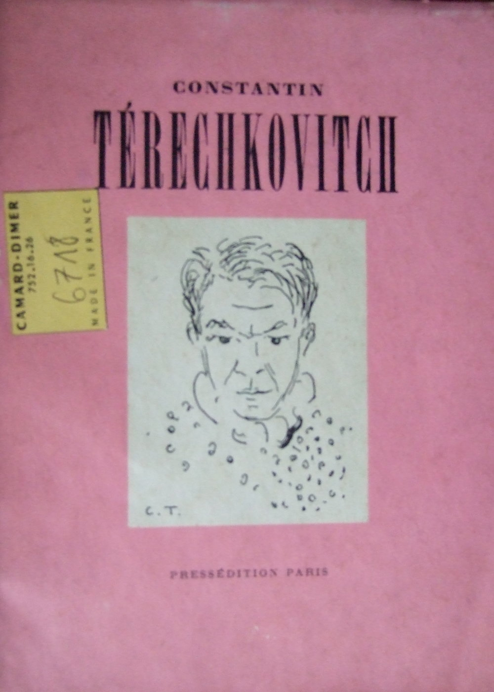 Terechkovich Constantin by Maximilien Gauthier
