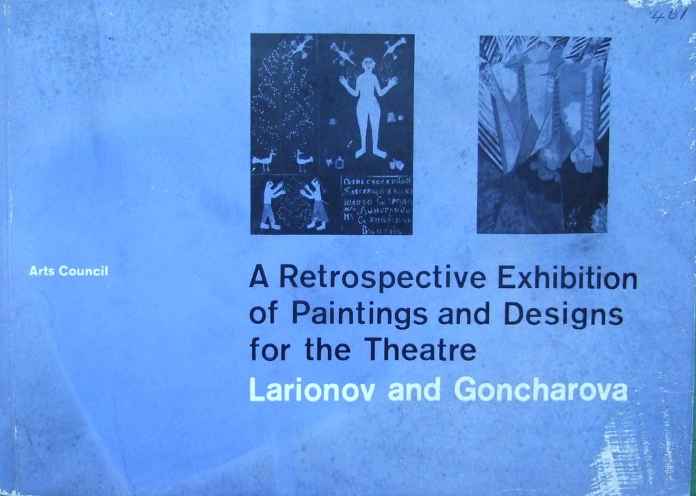 A Retrospective Exhibition of Paintings and Design for the Theatre. 1961 London. Leeds. Bristol.